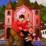 Fernando Botero - Strage degli innocenti (1999)