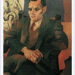 Renato Guttuso - Ritratto di Alberto Moravia, 1940