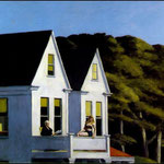 Edward Hopper - La luce del sole (1960)