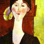 Beatris Hastings - 1915 - Olio su tela