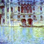 Claude Monet - Palazzo da Mula - Venezia - 1908 - Olio su tela