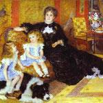 Madame Charpentier con i figli - 1878 - Olio su tela