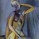 Nudo - 1909 - Olio su tela