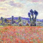 Claude Monet - I campi di papaveri - 1887 - Olio su tela