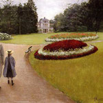 The Park on the Caillebotte Property at Yerres, 1875