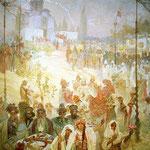 Incoronazione del serbo Tsar Stepan Dusan 1926