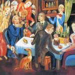 Easter. 1912-13. Private collection. St. Petersburg.