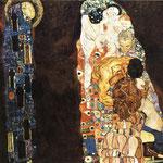 Morte e Vita - 1908/1916 - Olio su tela