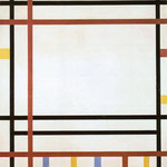 Piet Mondrian - New York, New York - 1941/42 - Olio su tela