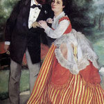 Portrait of Alfred and Marie Sisley, 1868