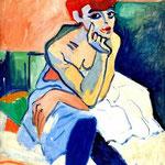 Donna in camicia - 1906