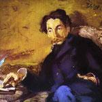 Edouard Manet - Ritratto di Stéphane Mallarmé - 1876 - Olio su tela
