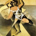 Venere e marinaio - c.1925 - Olio su tela