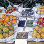 Fruit Displayed on a Stand
