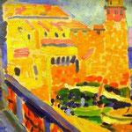 Il faro di collioure - 1905