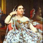 Madame Moitessier seduta -1856