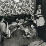Un dimanche matin chez les Zavatta, 1949