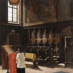 Il coro della chiesa di Sant'Antonio in Milano