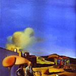 L'Arpa invisibile, fine e media - 1932 - Olio su tela
