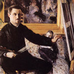 Self Portrait with Easel, 1880