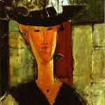 Signora Pompadour (Ritratto di Beatrice Hastings) - 1915 - Olio su tela