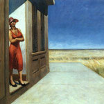 Edward Hopper - Carolina al mattino (1955)