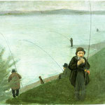 Pescatori sul Reno