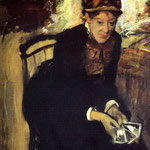 Portrait of Mary Cassatt, 1884
