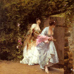 Return From the Ball, 1870