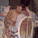Mother Holding a Child in Her Arms, 1890