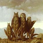 I compagni della paura - 1942 - Olio su tela