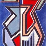 A.N.F., 1945, olio su tela, cm 50x35.
