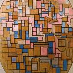 Piet Mondrian - Tableau III - Olio su tela