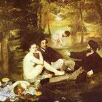 Edouard Manet - Il Picnic - 1862/1863 - Olio su tela