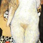 Adamo ed Eva 1917/1918 - Olio su tela