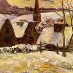 Breton Village in the Snow, 1894
