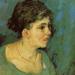 Portrait of a Woman in Blue, 1885