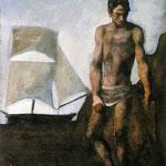 Pescatore con Vela, 1924
