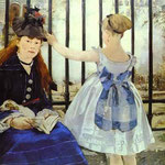 Edouard Manet - La ferrovia - 1873 - Olio su tela