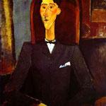 Ritratto di Jean Cocteau - 1916 - Olio su tela