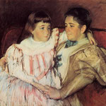 Portrait of Mrs Havemeyer and Her Daughter Electra