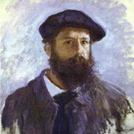 Claude Monet - Autoritratto - 1886 - Olio su tela