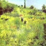 Sentiero di paese in estate - c.1874 - Olio su tela
