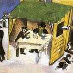 La Festa dei Tabernacoli - 1916 - Guazzo