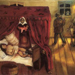 Nascita - 1910 - Olio su tela