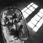 Les jumelles, Gordes, 1955