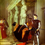 Don Pedro di Toledo bacia la spada di Enrico IV - 1814