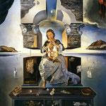 La Madonna di Port Lligat - 1950 - Olio su tela