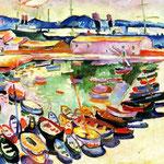 Georges Braque - Porto di La chotat (1907)