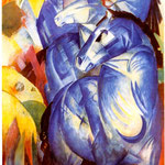 Cavalli blu